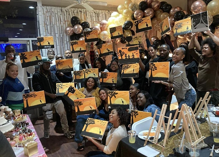 Sip & Paint Party-Weso Creative image