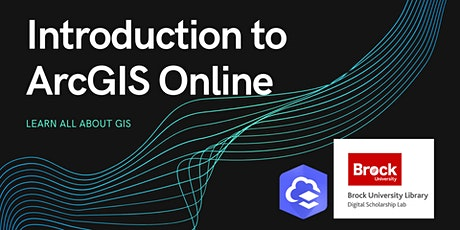 Introduction to ArcGIS Online tickets