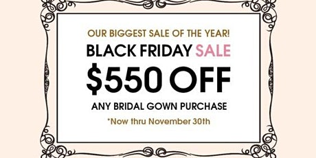 Black Friday Sale Event tickets