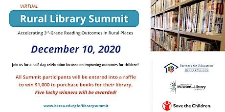 Rural Library Summit tickets