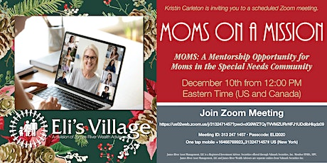 MOMS: A Mentorship Opportunity for Moms in the Special Needs Community tickets