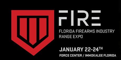 Florida Firearms Industry Range Expo (FIRE) tickets