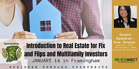 Introduction to Real Estate for Fix and Flips and Multifamily Investors tickets