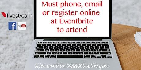 Humberlea Online Worship Service tickets