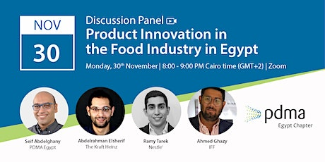 Product Innovation in Food Industry in Egypt Tickets