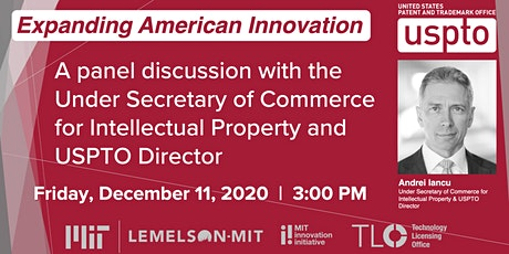MIT and USPTO: Expanding American Innovation tickets
