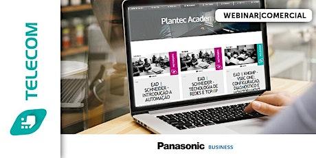 WEBNAR|PANASONIC - MÓDULO COMERCIAL - SOFTWARE PABX KX-NVS300