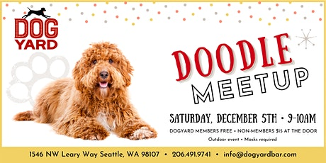 Doodle Meetup at the Dog Yard tickets