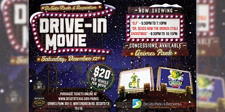 Holiday Drive-In Movie - Dr. Seuss' How The Grinch Stole Christmas tickets
