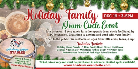 Holiday Family Drum Circle tickets