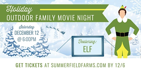 Holiday Outdoor Family Movie Night tickets