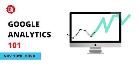 Google Analytics 101 tickets