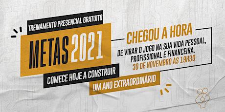 [BELO HORIZONTE/MG] TREINAMENTO PRESENCIAL GRATUITO - Metas 2021 ingressos