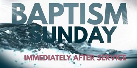 Community-wide Baptism tickets