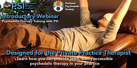 WEBINAR: Psychedelic Therapy Training Program Through PSI tickets