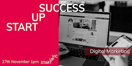 Startup Success Series: Digital Marketing tickets