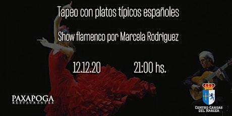 Tapeo español con show flamenco entradas