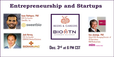 Beers and Careers Entrepreneurship and Startup Networking Event tickets