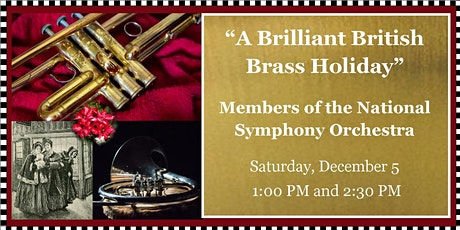 Sounds of Joy & Light: Chamber Concert - A Brilliant British Brass Holiday tickets