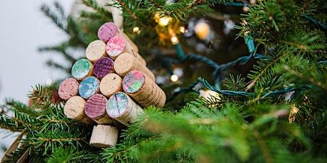 Festive Cork Tree Ornaments tickets