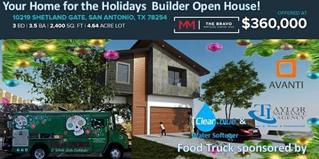 Your Home For the Holidays Avanti Builder Open House! tickets