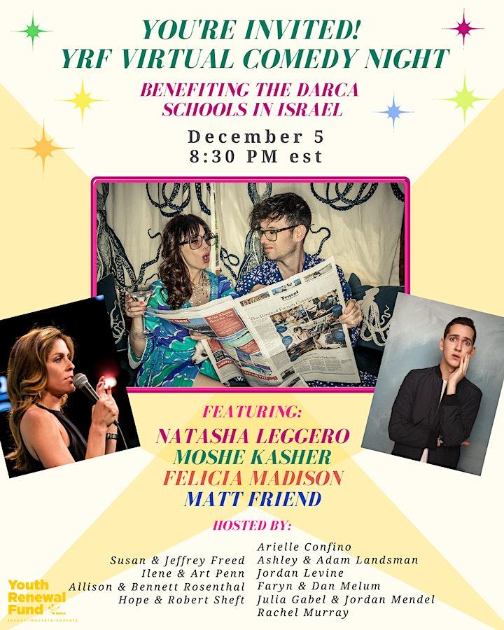 Youth Renewal Fund Virtual Comedy Night image