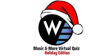 Washington's Virtual Quiz - Holiday Edition tickets