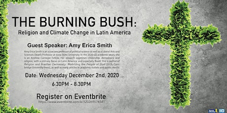 The Burning Bush: Religion and Climate Change in Latin America tickets
