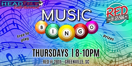 Music Bingo at Red at 28th tickets