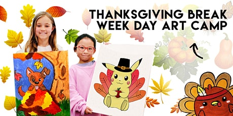 Thanksgiving Break Week Day Camp | November 23 - 29th | Ages 5+ tickets