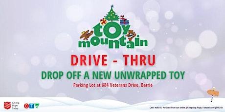 Toy Mountain Drive-Thru tickets