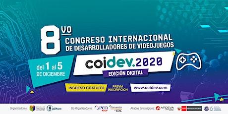 Congreso Internacional de Desarrolladores de Videojuegos, COIDEV entradas