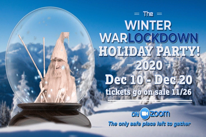 The Winter WarlockDOWN Holiday Party image
