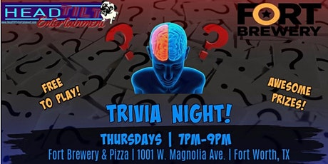 General Trivia Night at Fort Brewery & Pizza- Fort Worth tickets