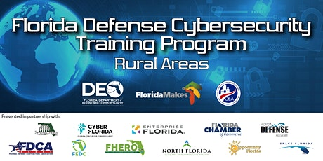 Florida Defense Cybersecurity Training Program: Rural Areas tickets