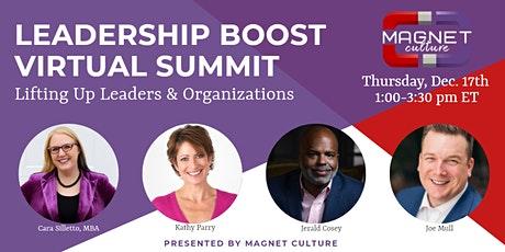 Leadership Boost - Presented by Magnet Culture tickets