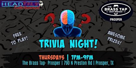 General Trivia Night at The Brass Tap - Prosper tickets