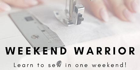 Weekend Warrior January 2021 : LEARN TO SEW IN ONE WEEKEND! tickets