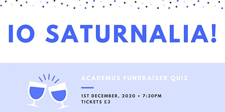 Io Saturnalia tickets