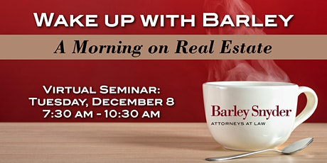 [WEBINAR] Wake up with Barley: A Morning on Real Estate tickets