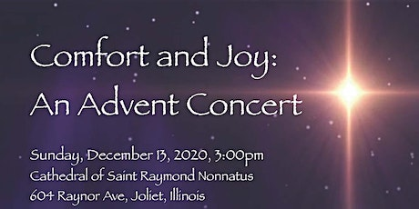 Comfort and Joy: An Advent Celebration tickets