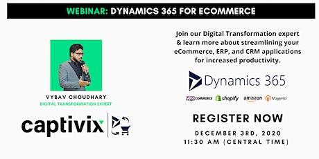 Webinar: Dynamics 365 for Ecommerce tickets