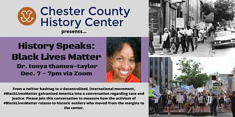 History Speaks: Black Lives Matter tickets