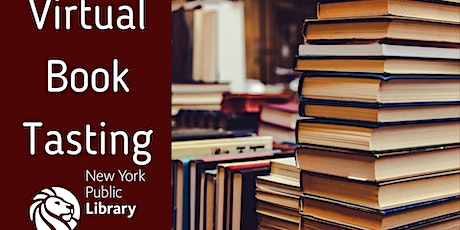Virtual Book Tasting tickets