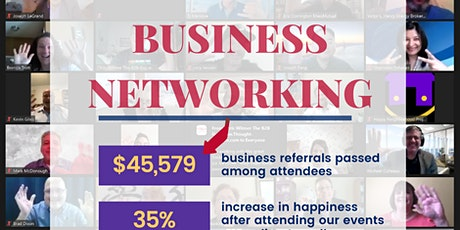 Free Happy Business Networking North Texas tickets