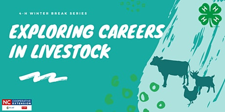4-H Winter Break: Careers in Livestock tickets