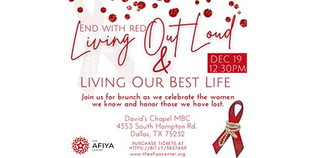 End with Red: Living Out Loud & Living Our Best Life To-go Brunch tickets