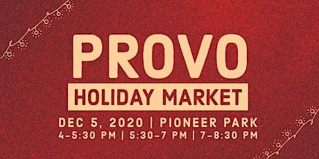 Provo Holiday Market | Dec 5th, 2020 tickets