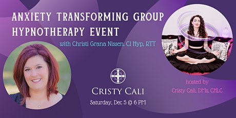 Anxiety Transforming Group Hypnotherapy Event tickets