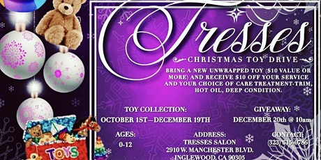 Tresses Toy Drive tickets